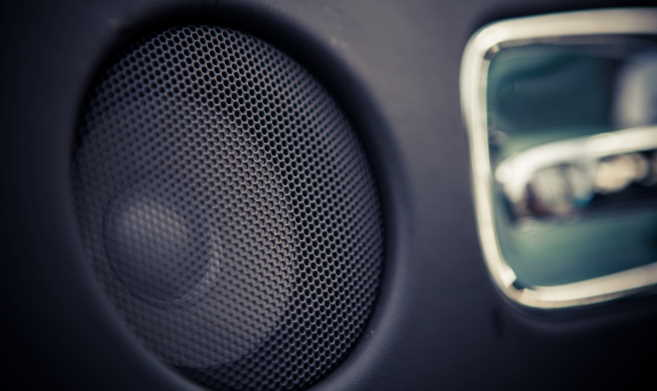 fix a rattling car speaker